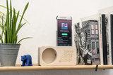 Jazz&mo' speaker (voor smartphones met luidspreker onderaan, geen iPhone8 of later)_